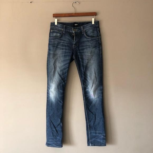 Hudson Blake slim straight jeans 30